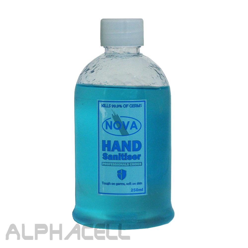 HAND SANITIZER NOVA - 250ml GEL 70%