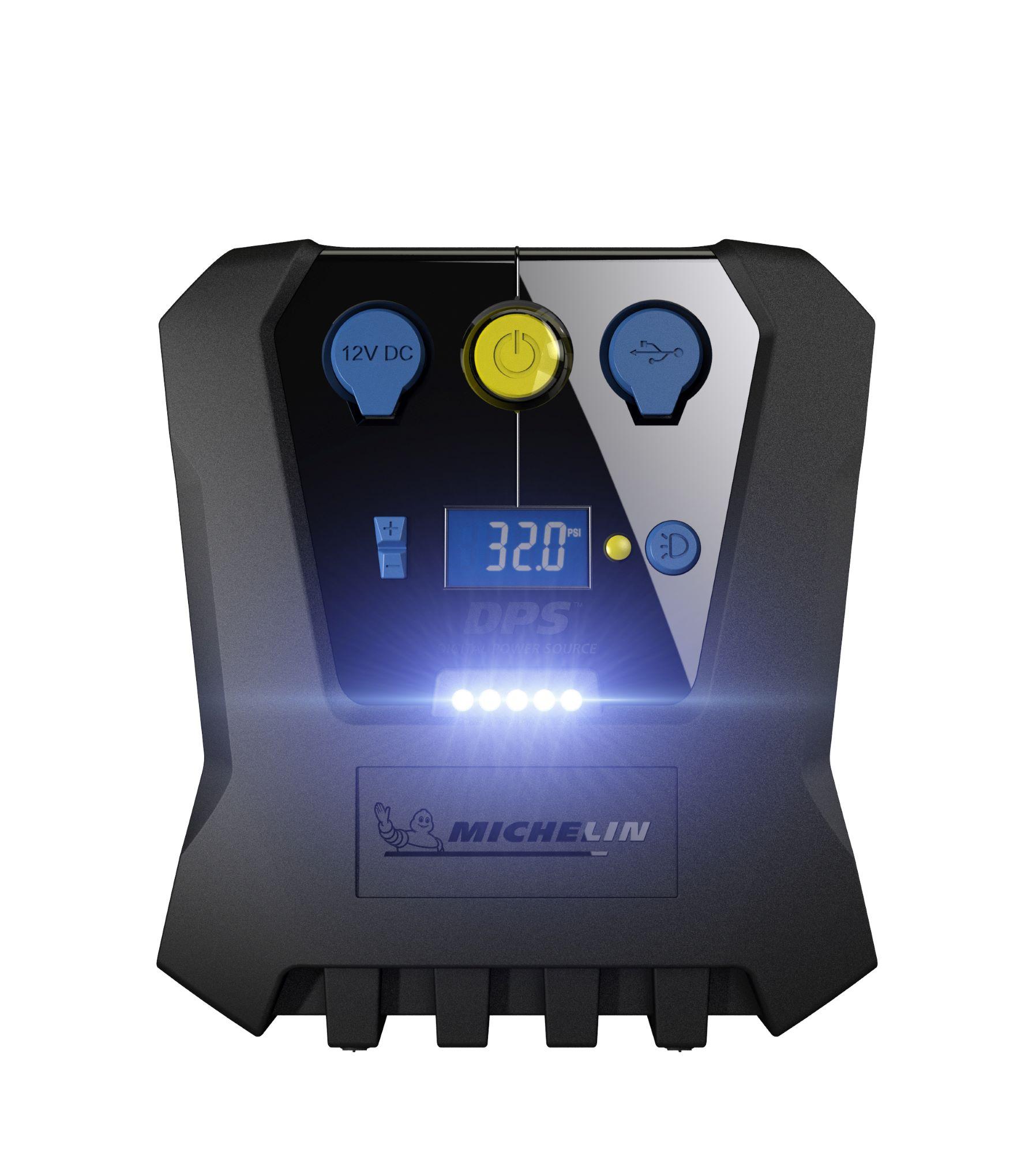 Michelin - Digital High Power Fast Flow Tyre Inflator 12V - Programmable