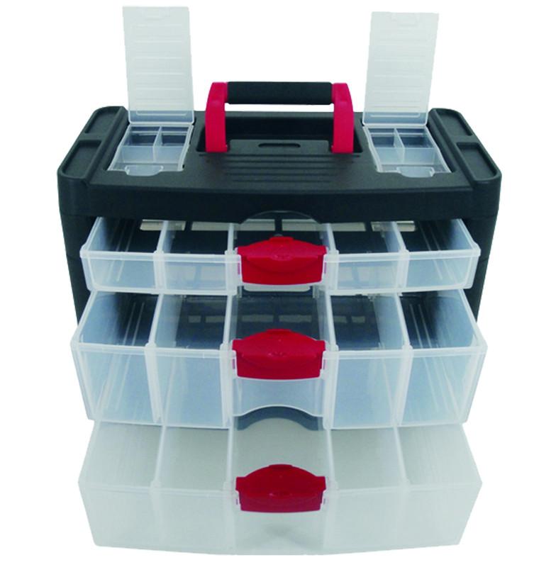 3-drawer Storage Box - size 400 x 205 x 290mm