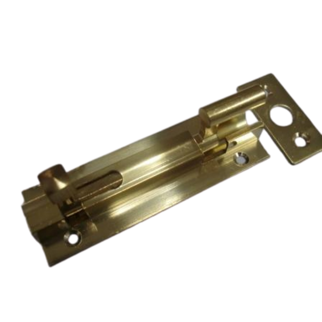 Solid Brass Necked Barrel Bolts