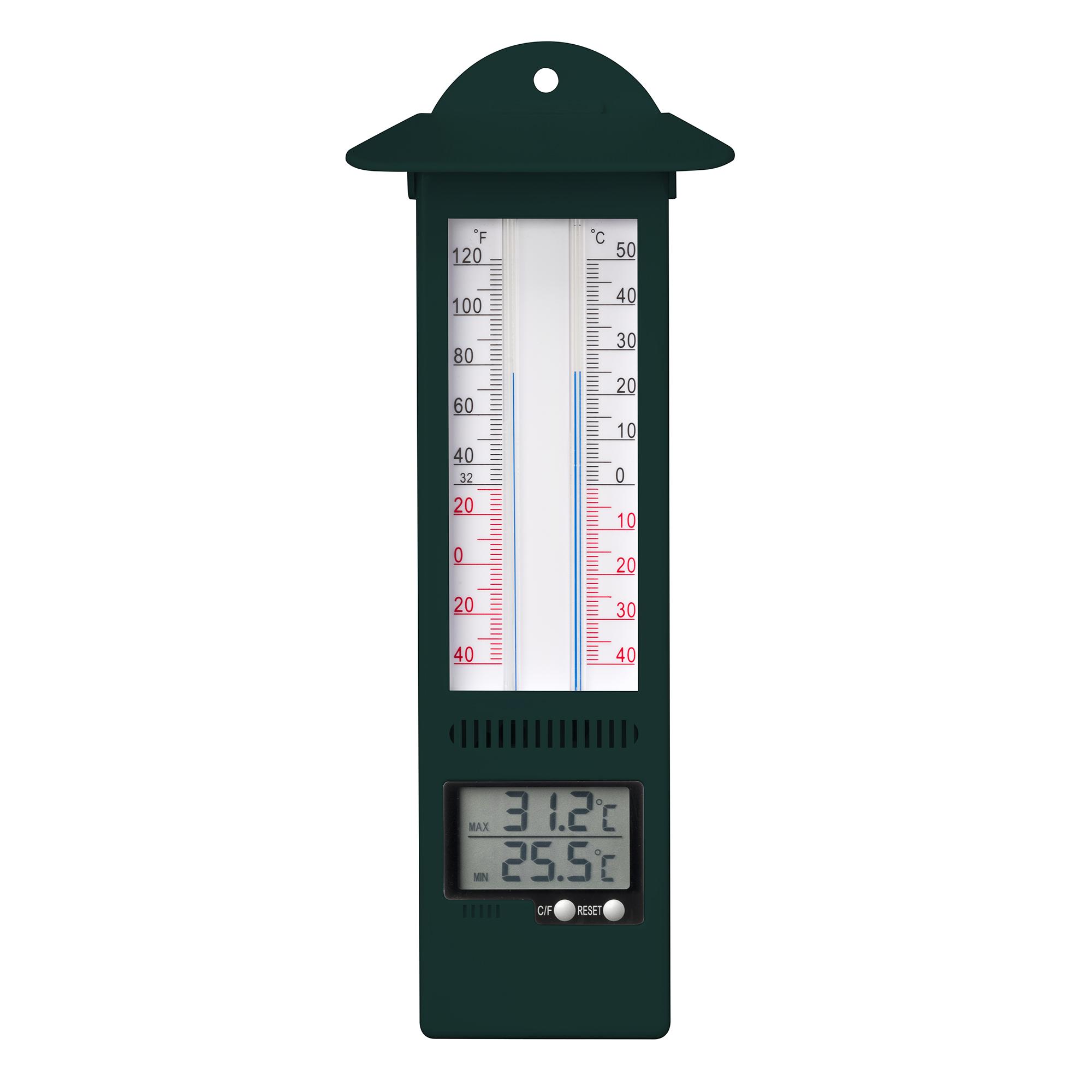 Digital Wall Thermometer - Min/Max