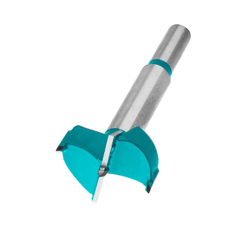 Total Tools 2 Pcs Forstner Forstner Drill Bits 35mm