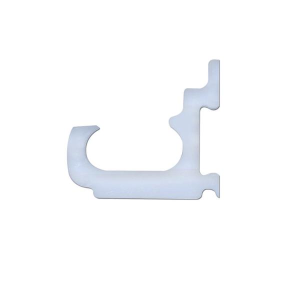 Curtain Track Superior Adapta Clips White (2)