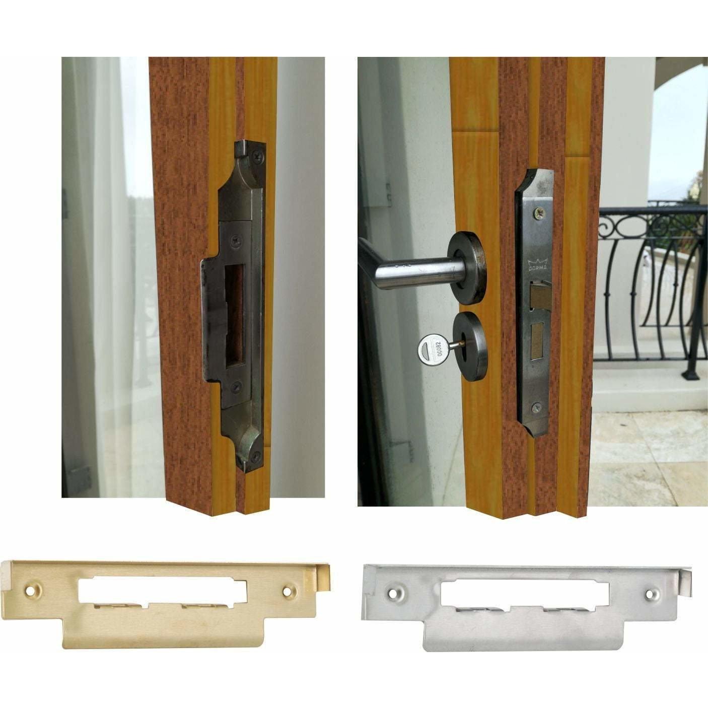 Rebate kit for mortise cylinder lock (ML-262)
