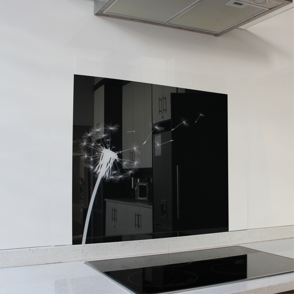 Dandelion Hob Glass Splashback (598 x 650 x 6mm)