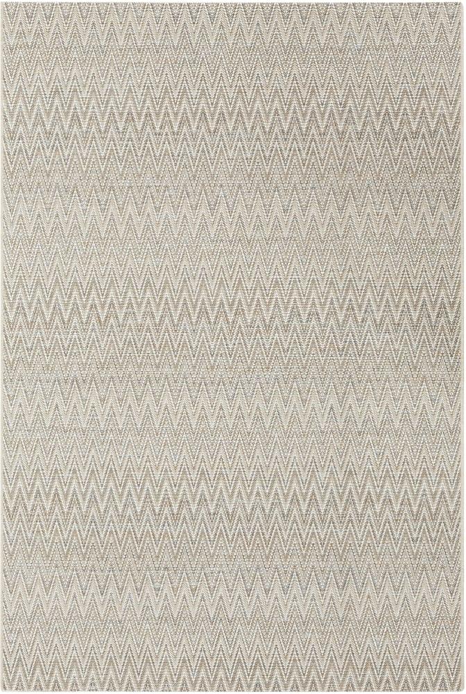 Rugs Original Zigzag Pulse Design Prisma - Cream  Light Brown & Grey (120 X 170)