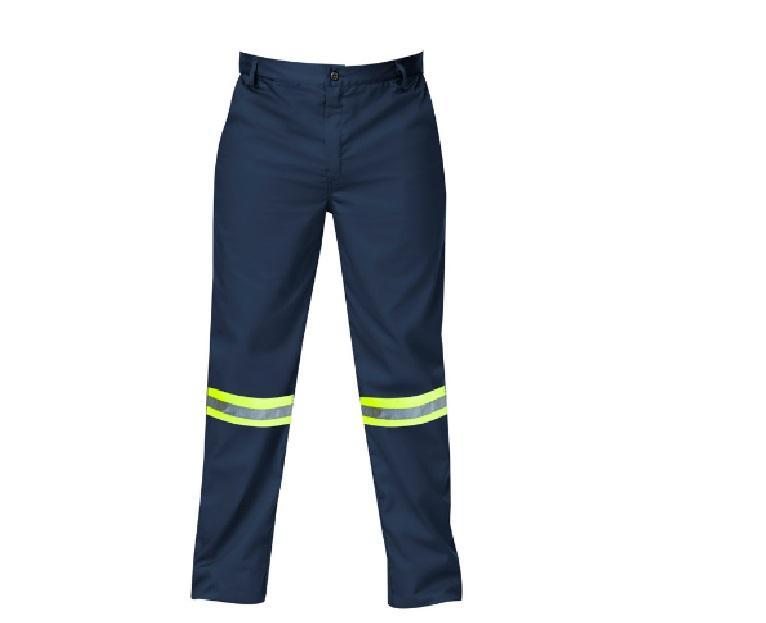 Titan Premium Navy Blue Workwear Trouser (with Reflective) Size 30