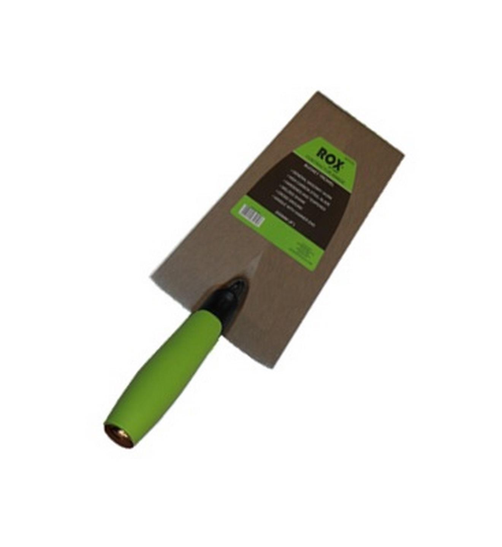 """Rox® bucket trowel - contractor range - 200mm(8"""") - carbon steel blade - TPE handle"""