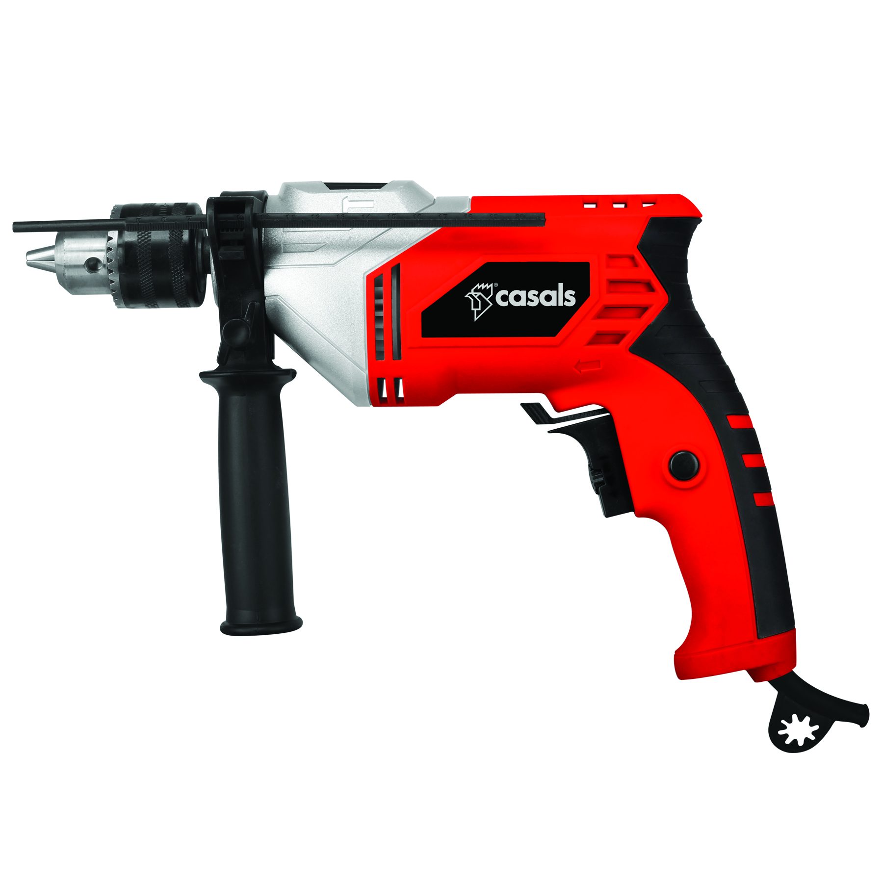 Casals Drill Impact Plastic Red 13mm Variable Speed