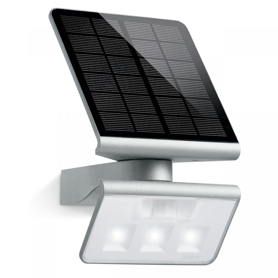 German Quality _ Steinel Solar LED Light XSolar L-S Silver _ Garden Light