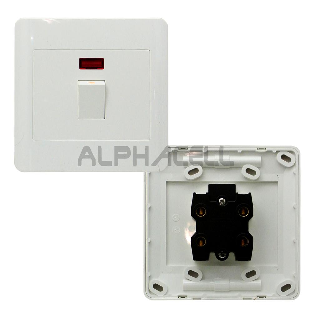 SWITCH ISOLATOR - 60amp (4x4) illuminated switch