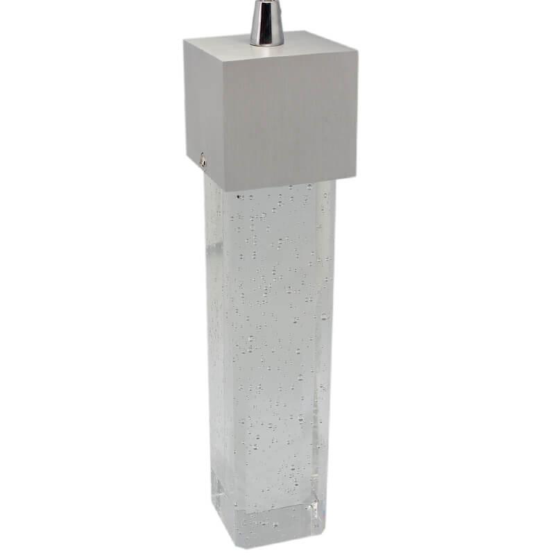 LED Square Finish Hanging Cool White Pendant Light ( P2SA-33C) - VETi