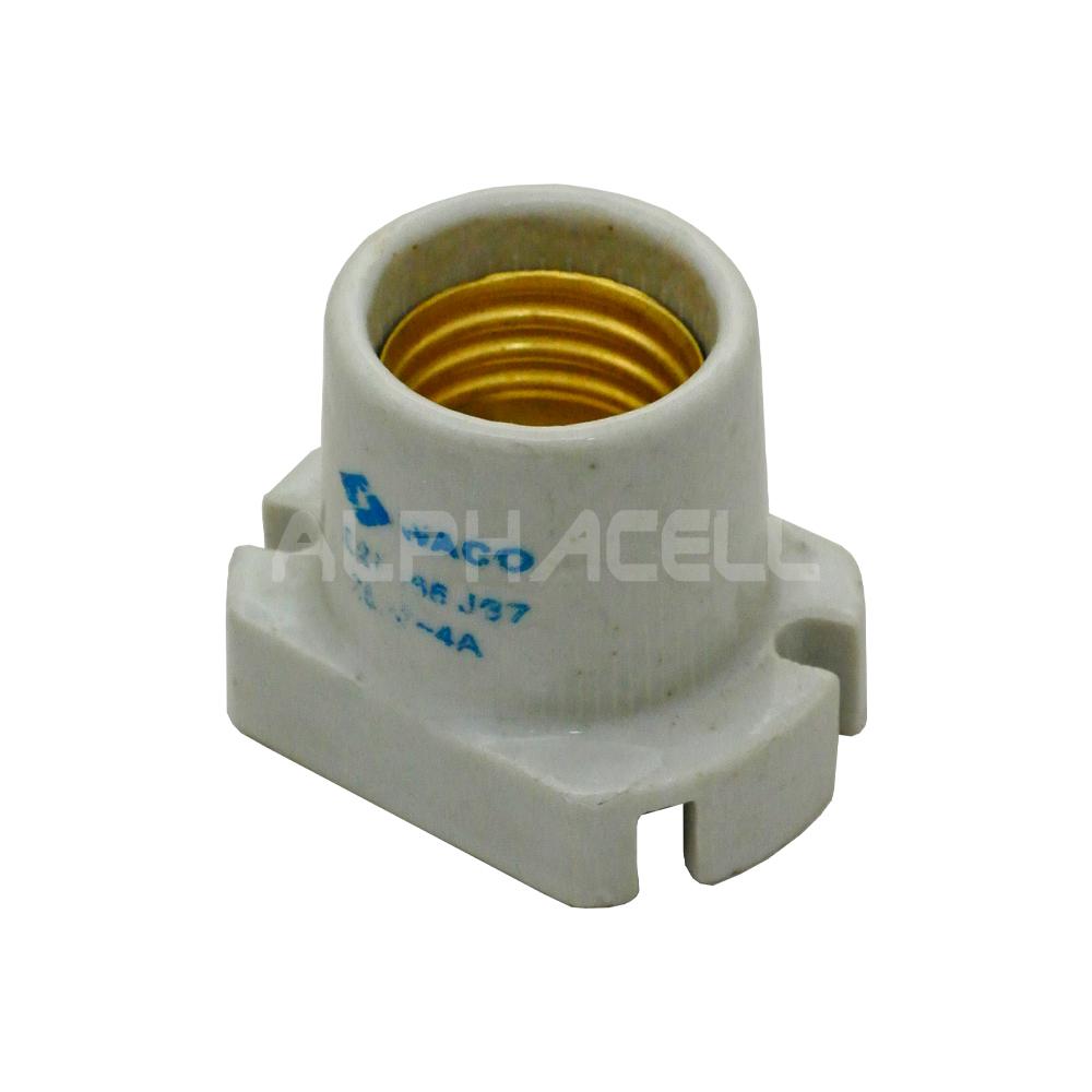 LAMPHOLDER E27 PORCELAIN/CERAMIC - SKIRTED