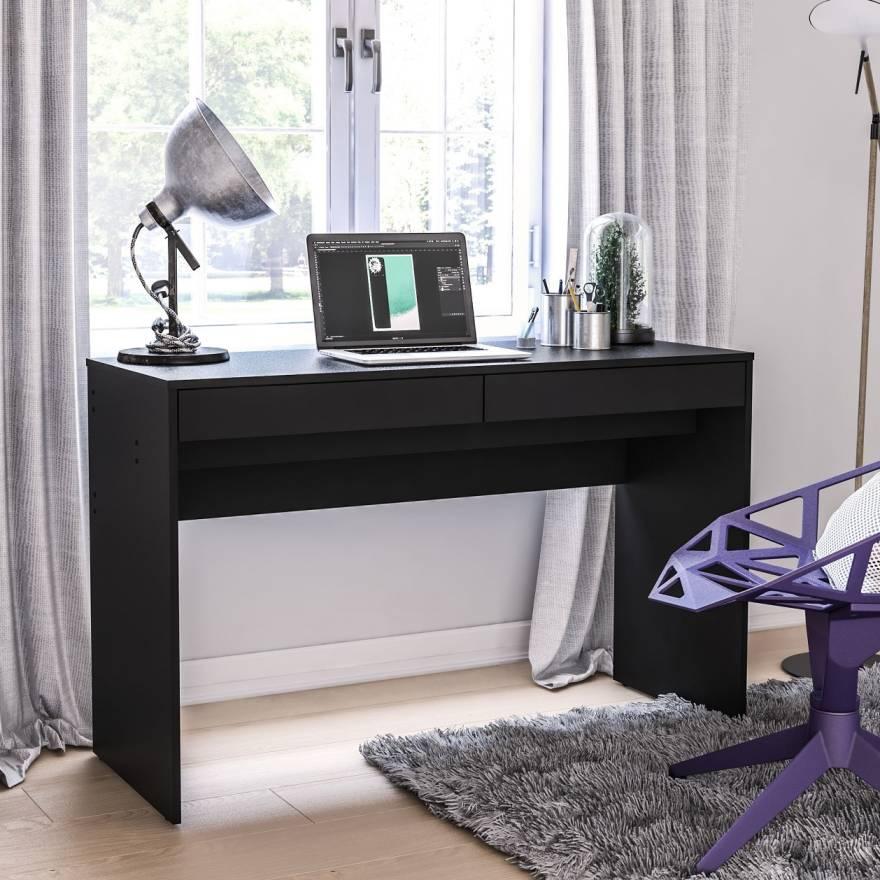 Click Furniture Iris Black Desk
