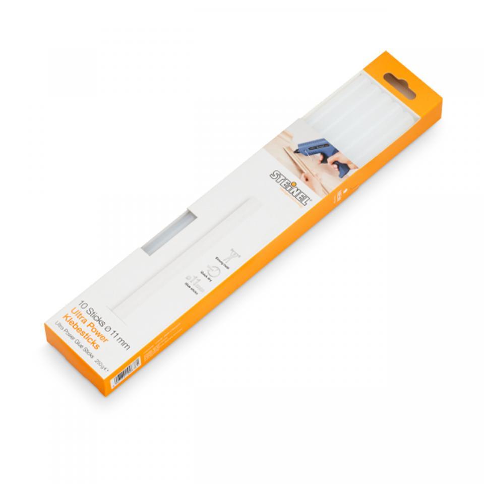 Steinel - 10 Ultra Power Glue sticks Ø 11 mm (300 g) -  German Quality