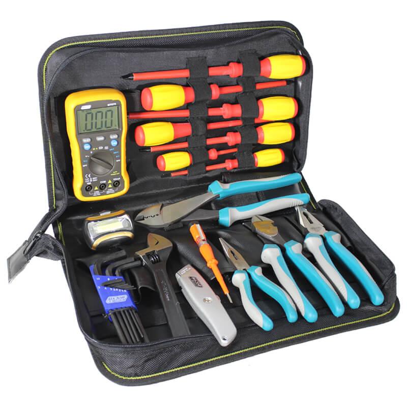 Tool Kit with Digital Multimeter