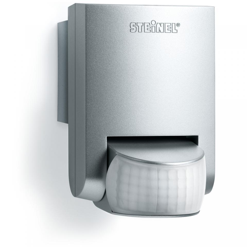 German Quality _ Steinel Motion Sensor IS 130-2 Silver _Motion Detector _ Light Sensor