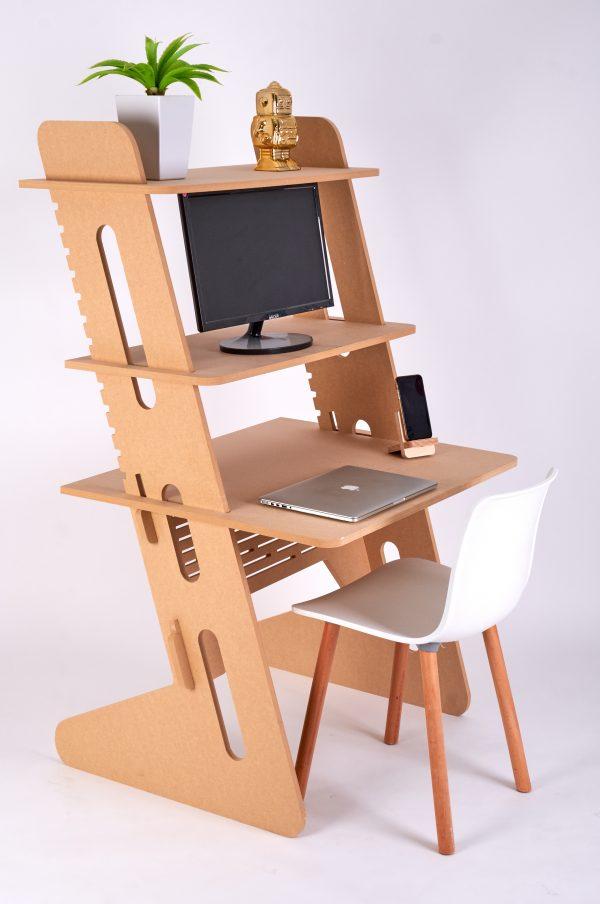 Sitting Standing Workstation Raw