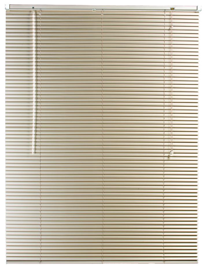 25 mm Alu Venetian Blind Fawn 2000 x 1600