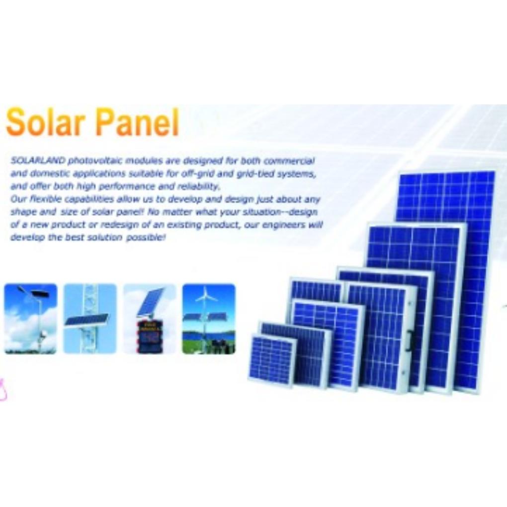 100W Monocrystalline PV Solar Module