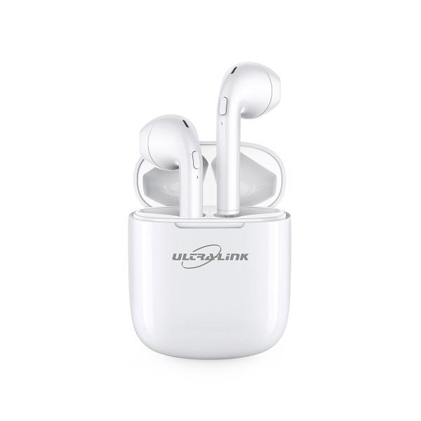 Ultra Link True Wireless Stereo Earbuds - White