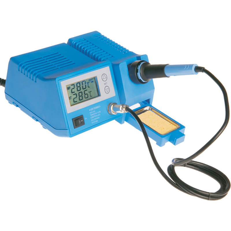 Soldering Station with LCD Display