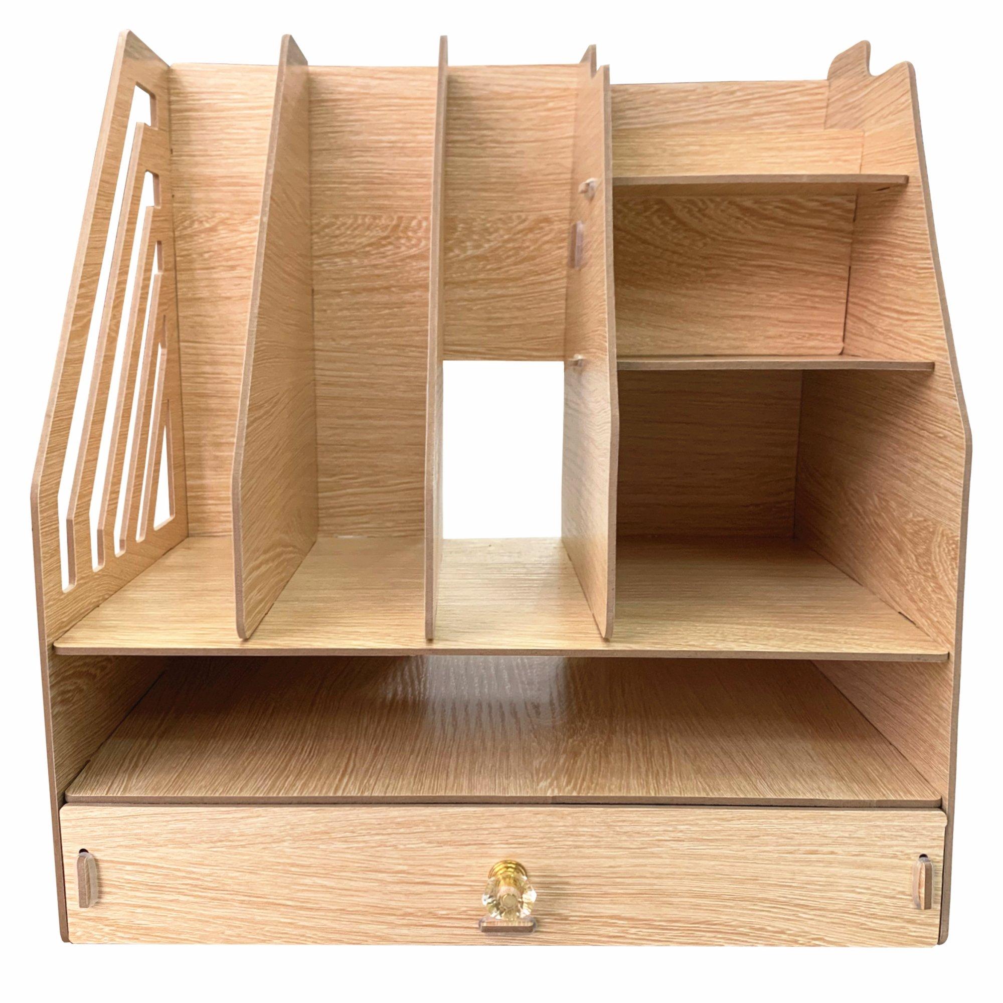 DIY Desk Organizer with Drawer