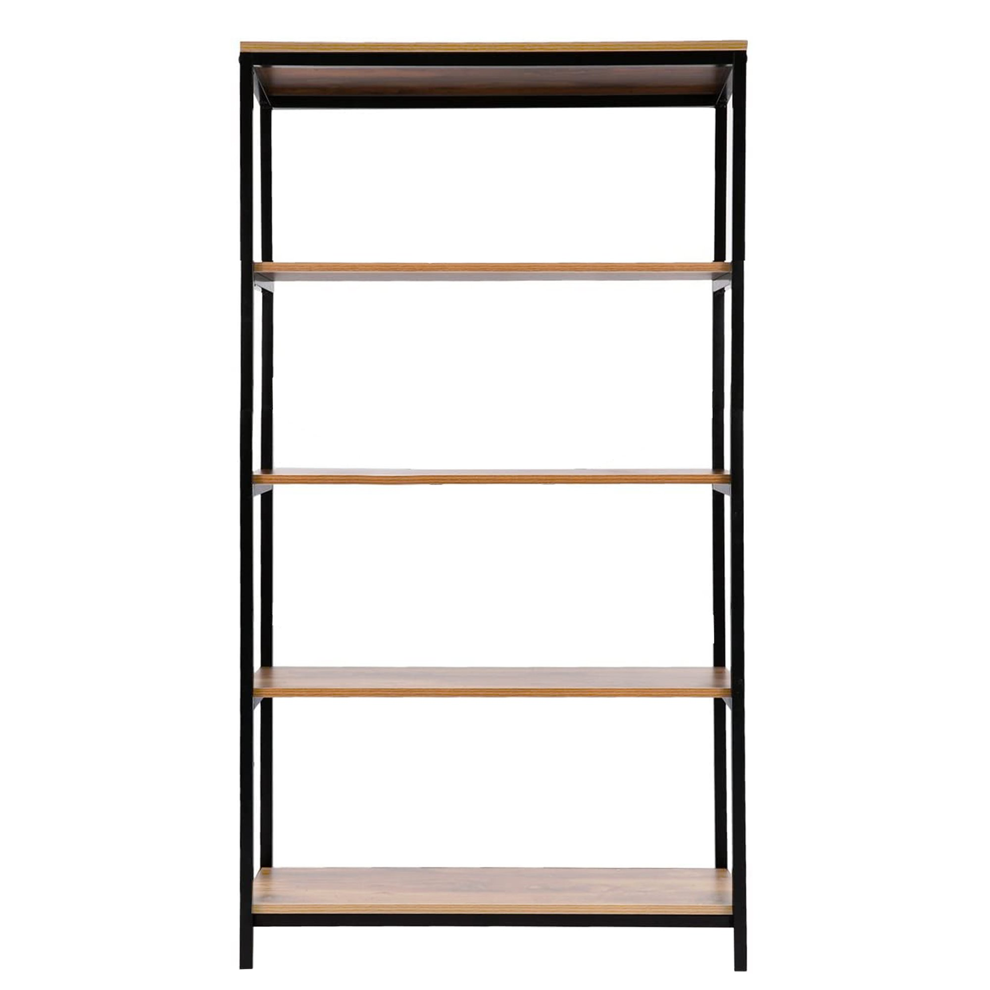 Industrial Style Bookshelf Display Shelves