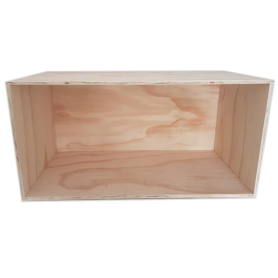 Display Box Rectangle -Wood