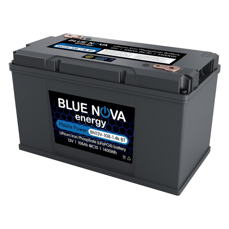 Lithium Iron Phosphate 13V - 108Ah - 1.4k Bluetooth Battery