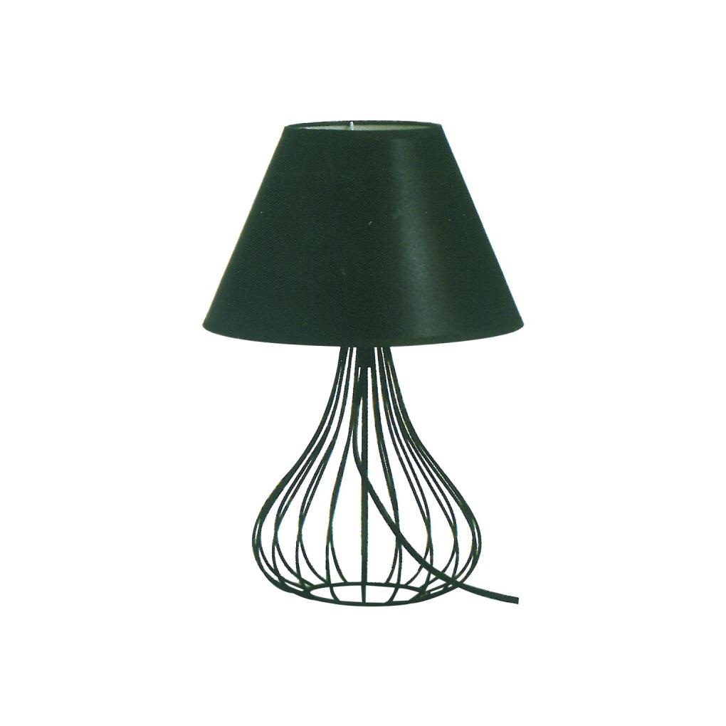 Scandinavian Table Light - Black Bell Shape