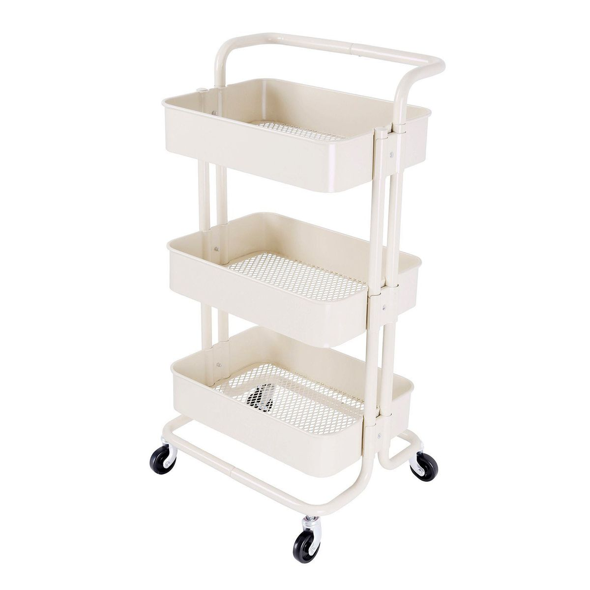 3 Tier Utility Rolling Cark Trolley (clearing Item)