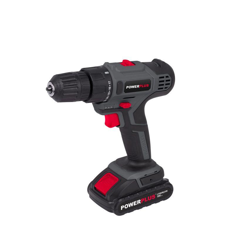Power Plus Drill/Screwdriver 18V Li-Ion