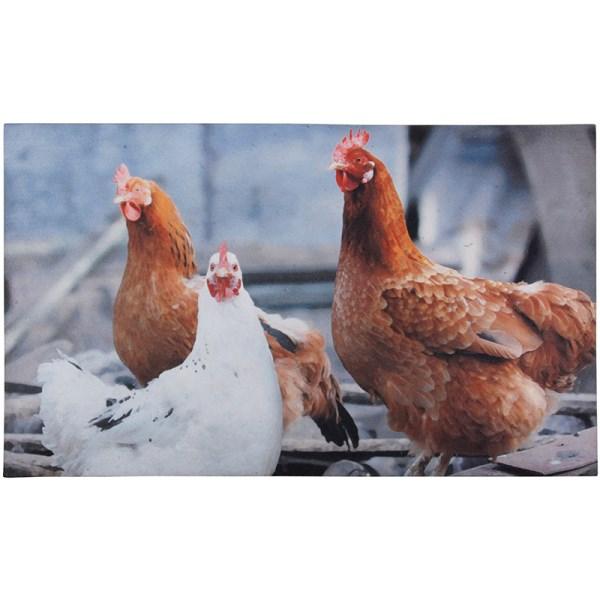 Doormat 'Chickens'