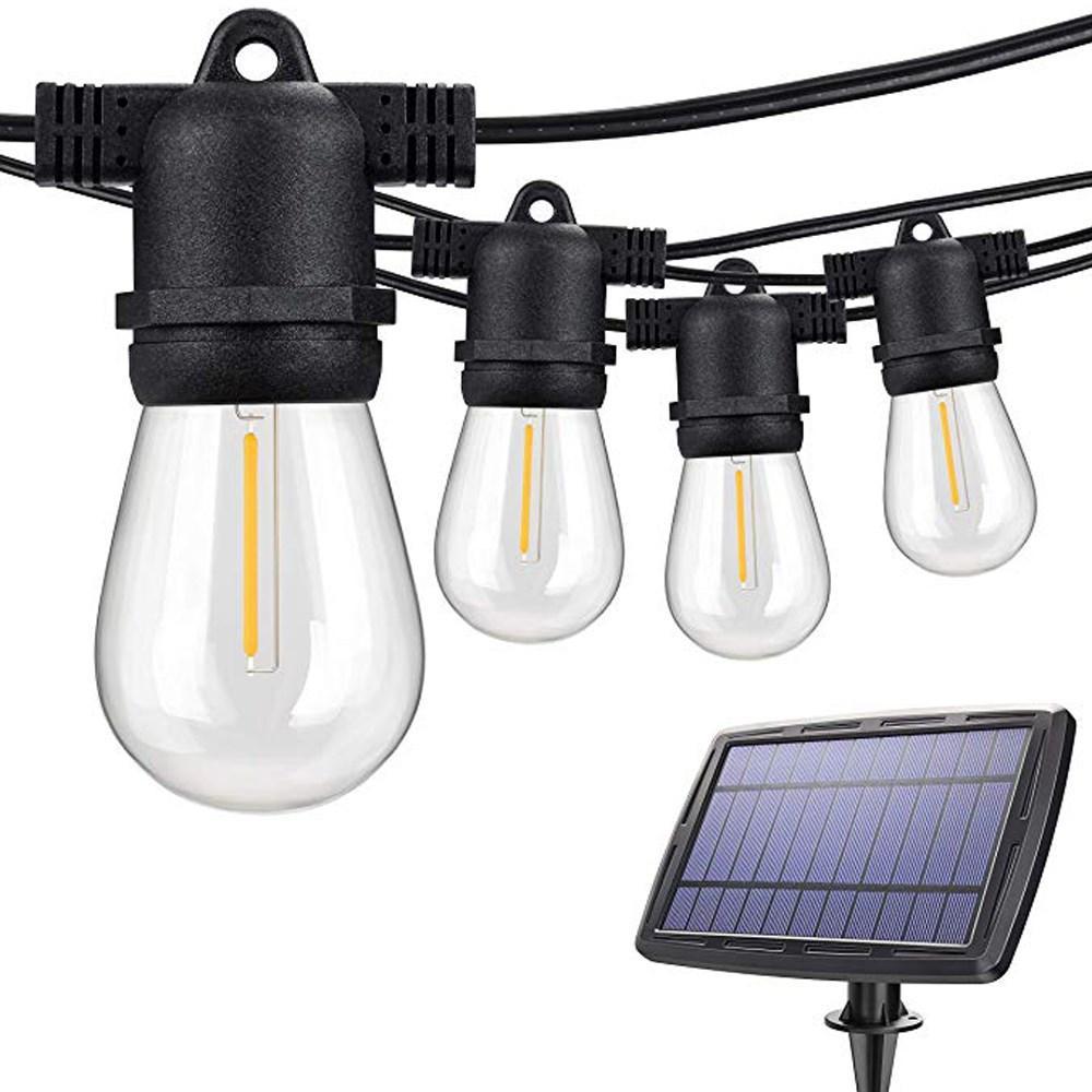 Litehouse Festoon Solar Power String Light - 10m