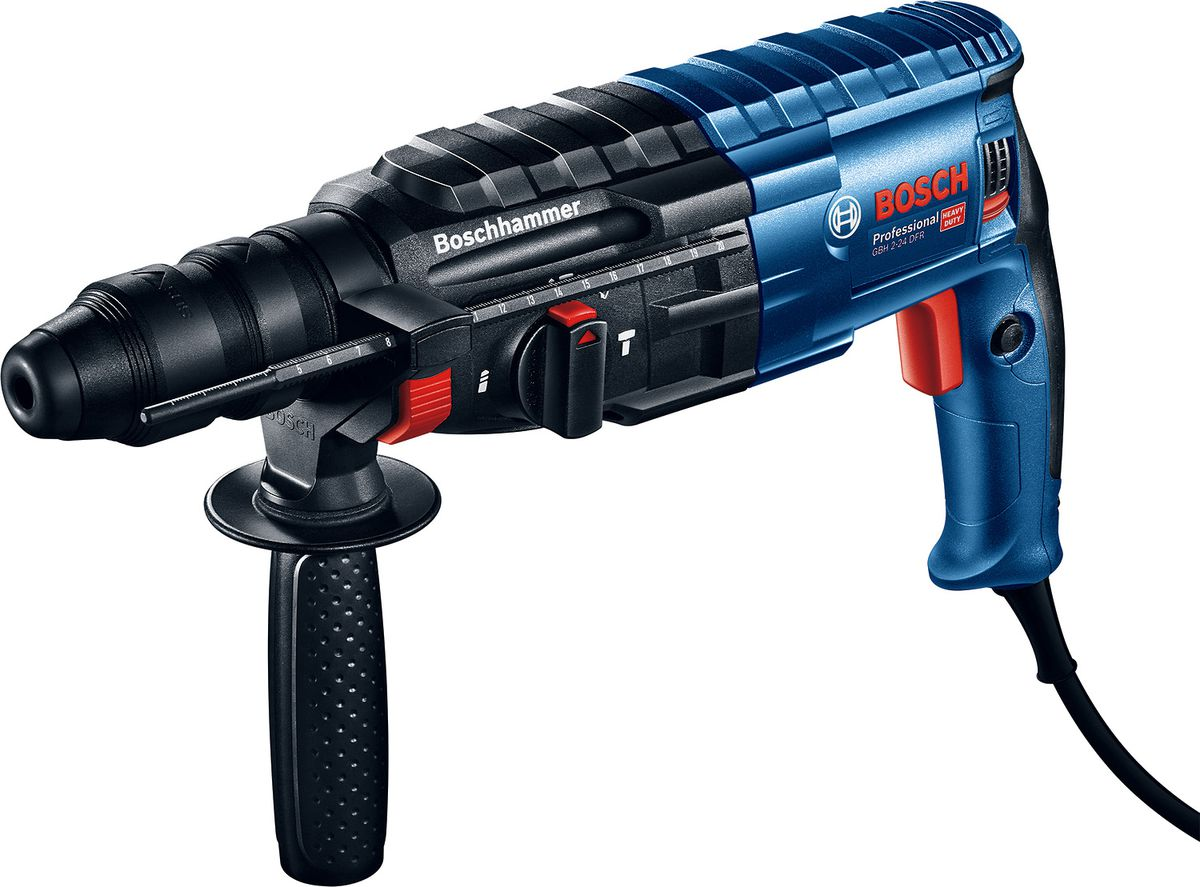 Bosch Rotary Hammer with SDS Plus GBH 2-24 DFR