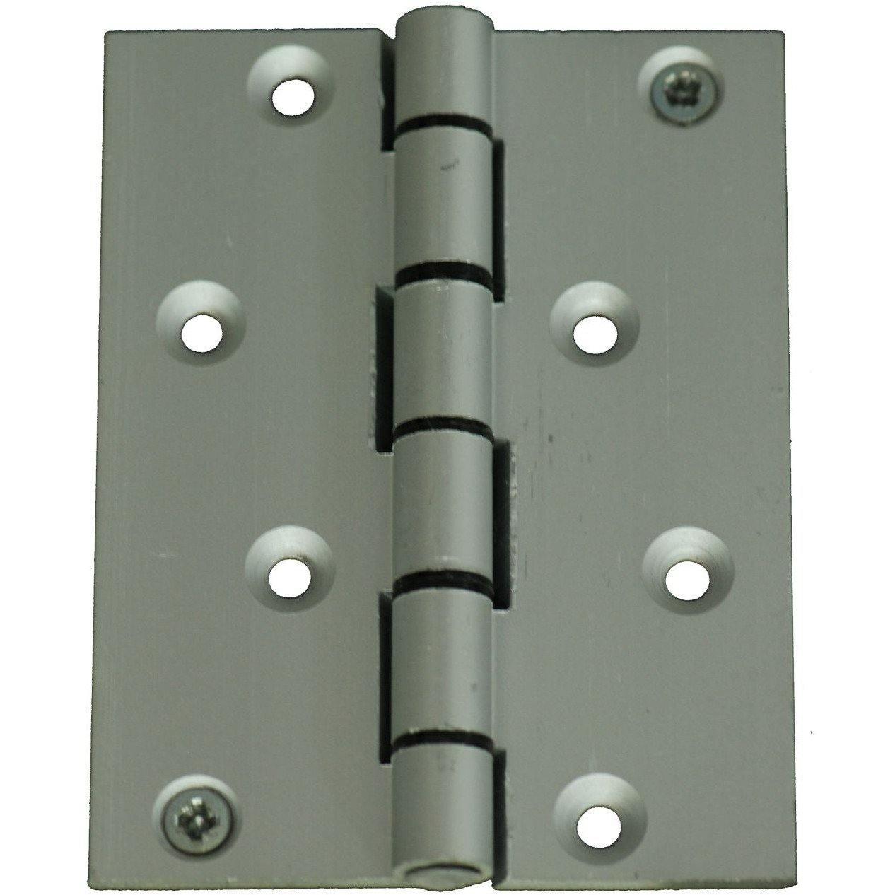 100 X 75mm Aluminium door hinges