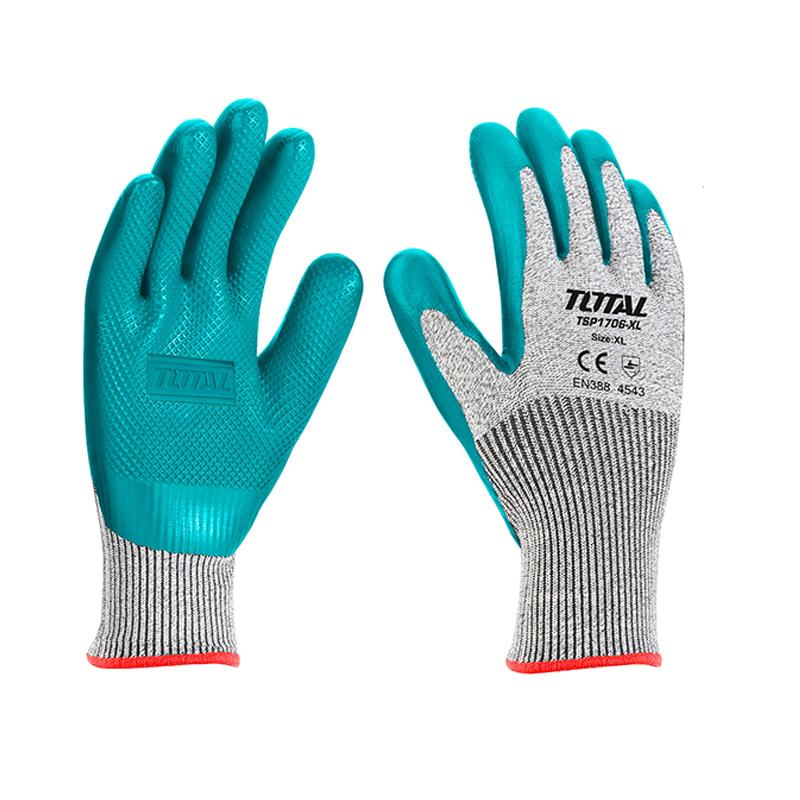 Total Tools 2 Pair Cut-resistant gloves
