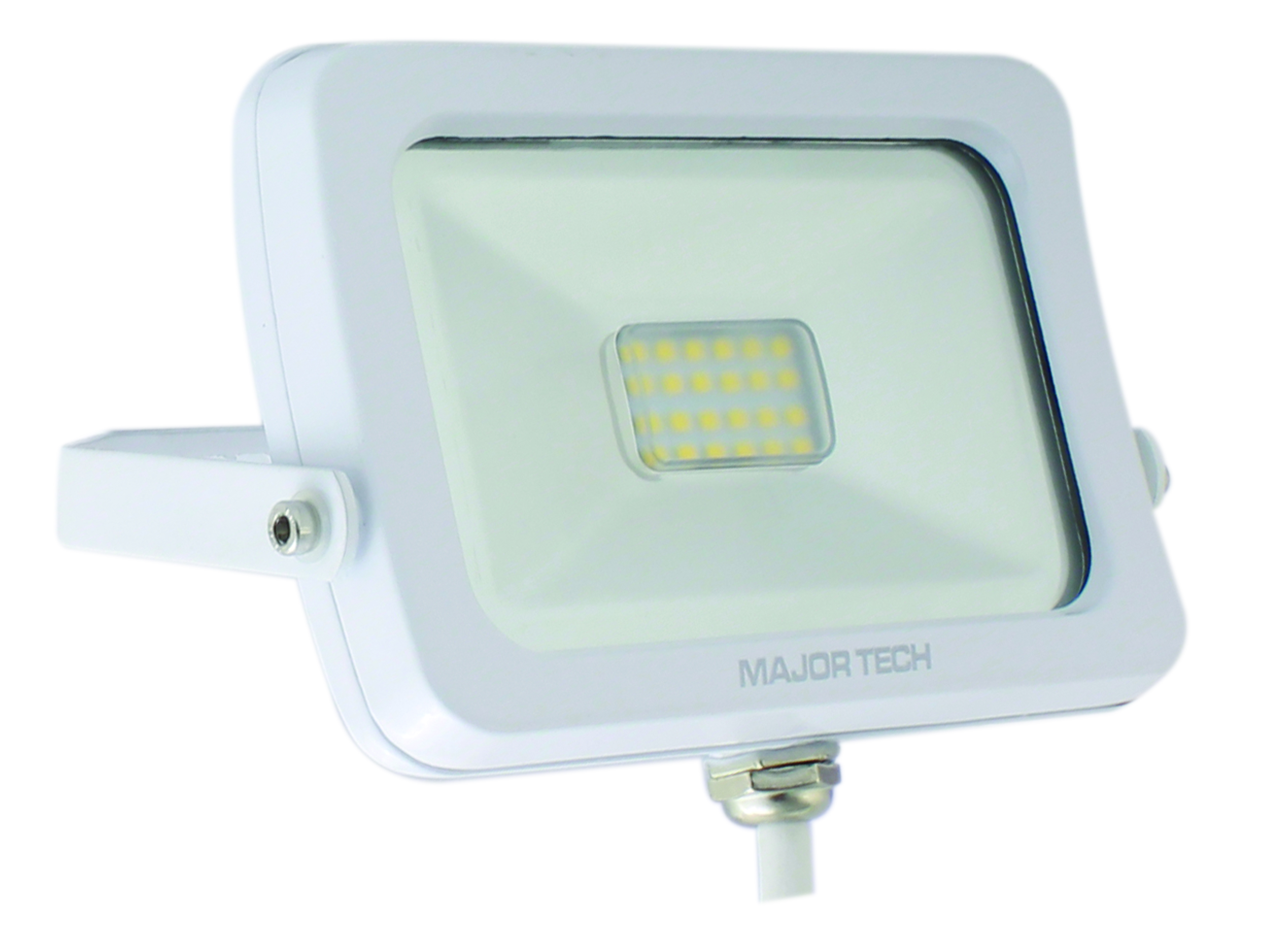 Natural White 10W LED Outdoor Floodlight (LFW-10NWS) - Major Tech