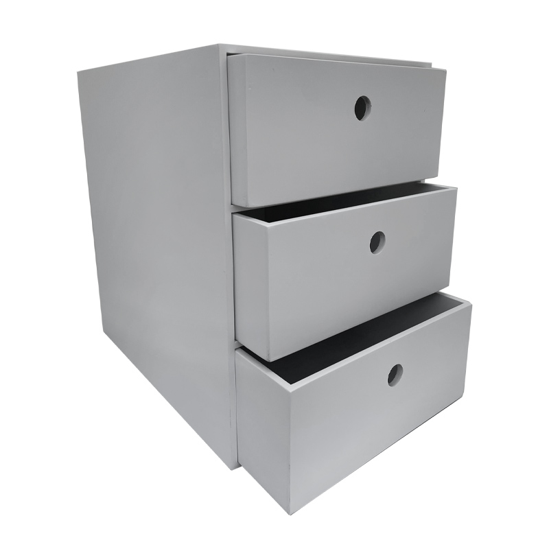 A4 3 Drawer Unit - Painted