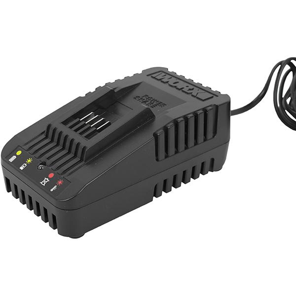 Battery Charer Standard 20V 2A For 2.0 - 6.0 Ah Li-On Batteries Worx