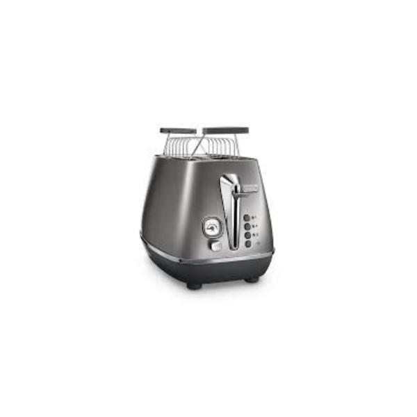 Delonghi Distinta Flair Toaster 2S Silver