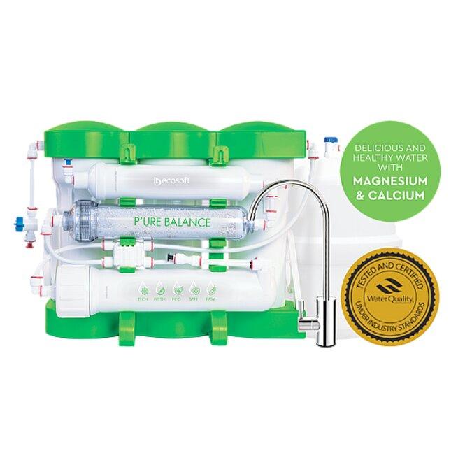 Ecosoft P'ure Balance Reverse Osmosis System 6 Stage - 75GPD