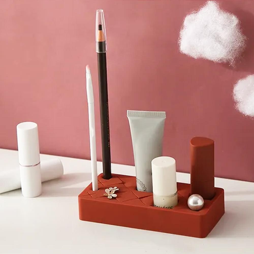 Silicone Cosmetic organizer - Small - Maroon