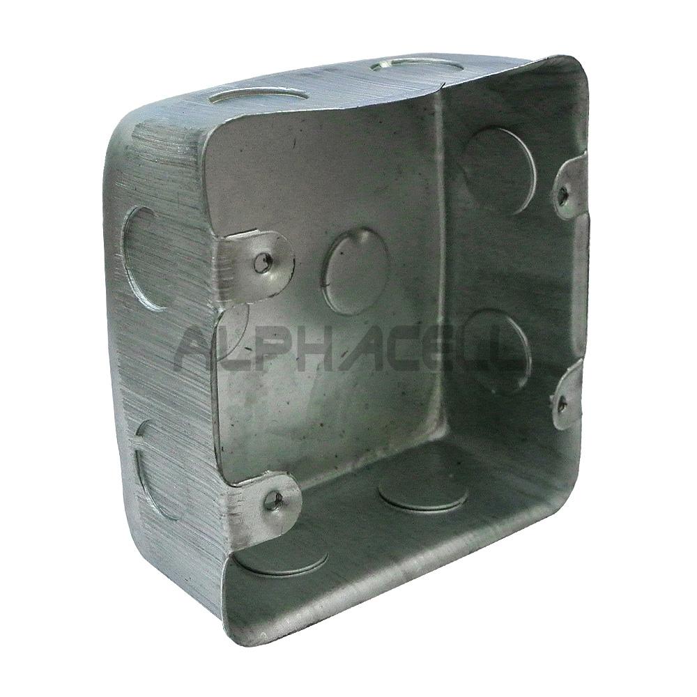WALL BOX GALVANISED 4x4