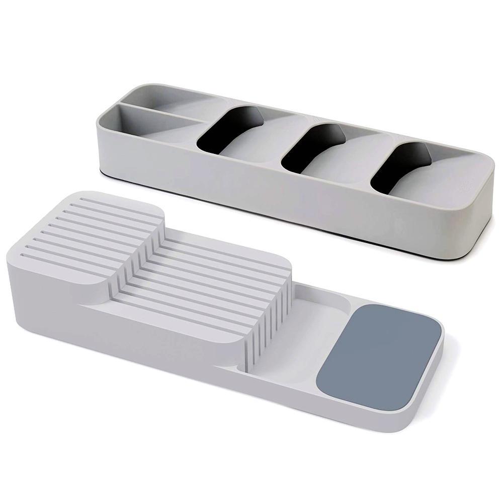 Kitchen Drawer Cutlery Organizer and Knives Storage Set
