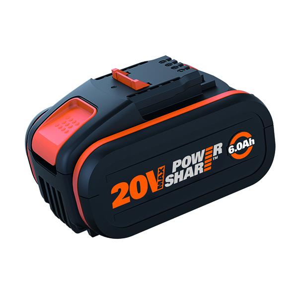 Battery Pack 20V 6.0Ah Worx