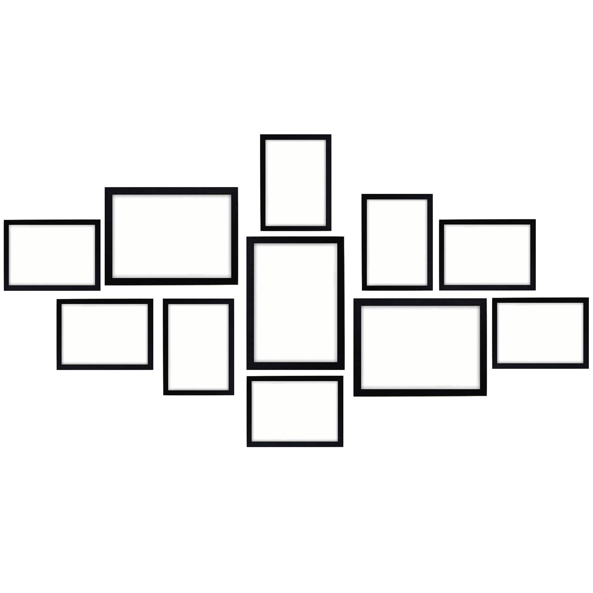 11pcs Photo Frames Set
