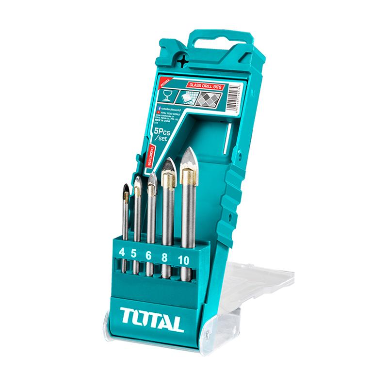 Total Tools Glass Drill Bits 5Pcs Industrial