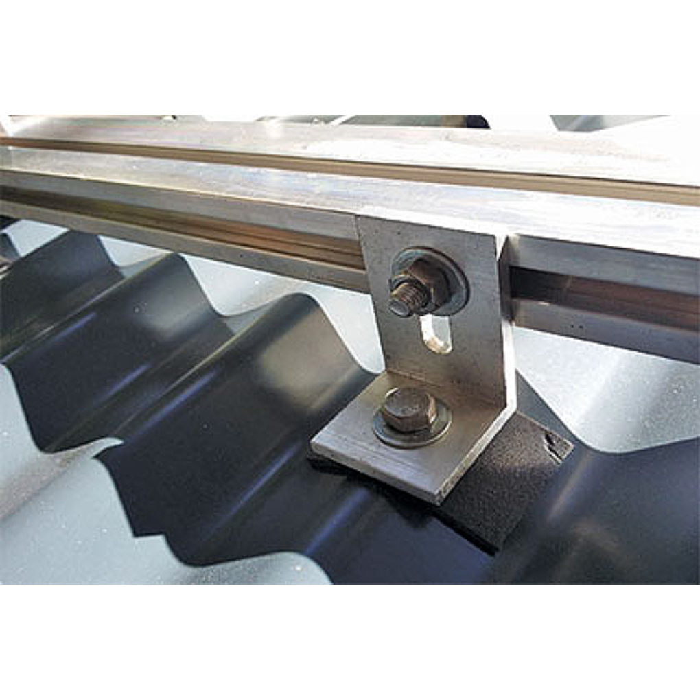 3 PV Panel Corrugated Roof Mounting Kit up to 72 Cell
